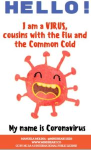 Coronavirus explained for children